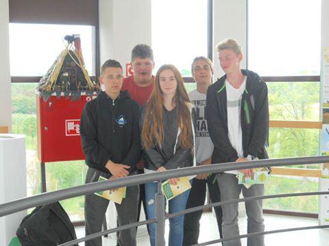 Baszta Młyńska w Debrznie – Wizyta uczniów II klasy Gimnazjum ZS w Debrznie